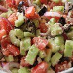 Cucumber Greek Salad | WLS Recipes | FoodCoach.Me