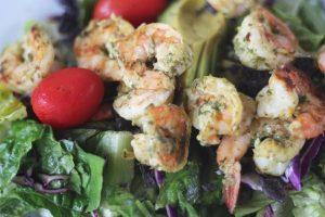 WLS Recipe - Shrimp Taco Salad