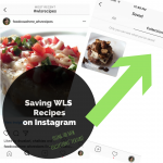 Saving WLS Recipes on Instagram   FoodCoachMe