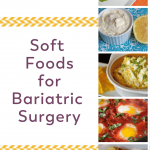 Pinterest Image Soft Foods for Bariatric Surgery