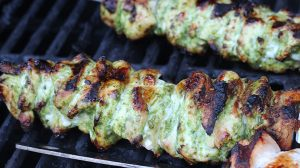 Chimichurri Grilled Chicken Kebobs | Bariatric Surgery Recipes | FoodCoach.Me