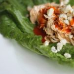 Shredded Buffalo Chicken Lettuce Wraps | FoodCoachMe | Bariatric Recipes