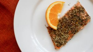 Citrus Herb Salmon | Bariatric Surgery Recipes | FoodCoach.Me