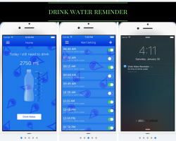 Drink Water Reminder App | Best Bariatric Apps 2017 | foodcoach.me