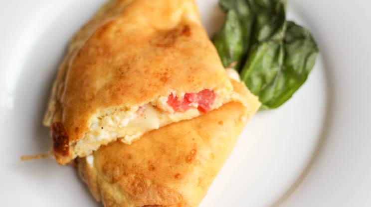 Feta Tomato Omelette