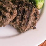 Black Bean Beef Burger | Bariatric Surgery Recipes | FoodCoach.Me
