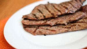 Thin Sliced Grilled Steak | Weight Loss Surgery Recipes | FoodCoach.Me