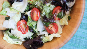 Basil Tomato Tossed Salad   Weight Loss Surgery Recipes   FoodCoach.Me
