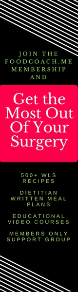 Weight Loss Surgery Nutrition | FoodCoach.Me