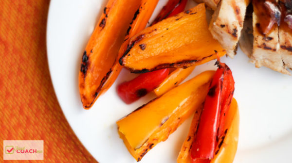 Pan Roasted Sweet Peppers | WLS Recipes | FoodCoach.Me