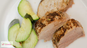 Caribbean Pork with Zucchini | Weight Loss Surgery Instant Pot Recipes | FoodCoach.me