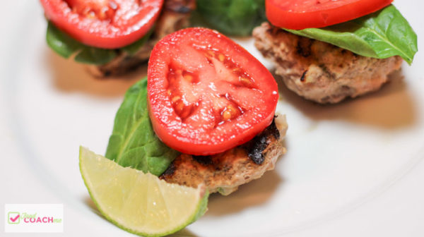 Jalapeno Chili Lime Turkey Burger | Weight Loss Surgery Recipes | FoodCoach.Me