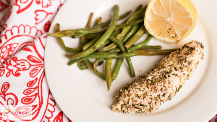 Sheet Pan Lemon Chicken with Green Beans | Gastric Sleeve Recipes | FoodCoach.Me