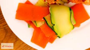 Vegetable Ribbon Salad   Bariatric Surgery Recipes   FoodCoach.Me