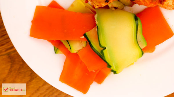 Vegetable Ribbon Salad | Bariatric Surgery Recipes | FoodCoach.Me