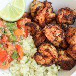 Spicy Shrimp Burrito Bowl   Gastric Sleeve Recipes   FoodCoach.Me