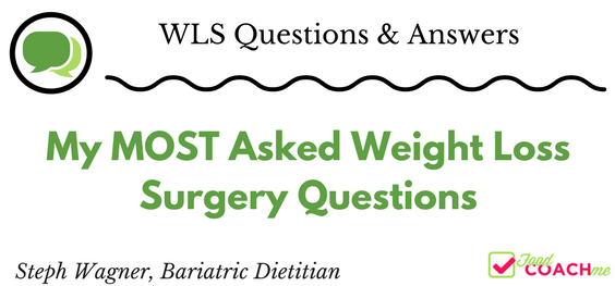 Most Asked Weight Loss Surgery Questions