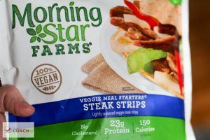 Bariatric Product Review: Morning Star Farms Steak Strips   WLS Nutrition   FoodCoach.Me