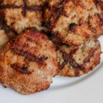These grilled parmesan turkey burgers have a secret that keeps them from sticking to the grate! The secret also pumps up the flavor :) Packed with protein for post weight loss surgery patients. #wlsrecipes #gastricsleeve #gastricbypass #ds #bariatric