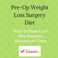 What's the story with pre-op weight loss surgery diets? Why do they recommend them? Why are different programs requiring different types of diets? Lots of questions when it comes to pre-op WLS diets! #wls #vsg #rny #ds #duodenalswitchdiet #preop #gastricsleevediet #gastricbypassdiet