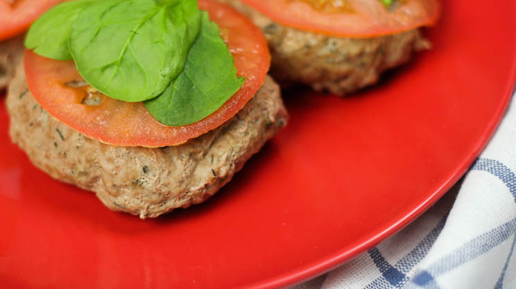 Turkey burgers in the Instant Pot! Not only are they quick, they maintain moisture making this protein focused meal comfortable for the post-op bariatric surgery pouch! #gastricsleeve #gastricbypass