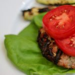 Zucchini Turkey Burgers are super fast and easy to make and high in protein making them a great choice after Gastric Sleeve, Bypass or Duodenal Switch! Add veggies and your bariatric dinner is ready! #wlsrecipes #gastricsleeverecipes #gastricbypassrecipes #bariatriccooking