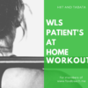 Weight Loss Surgery Workout Videos that you can do at home! They aren't totally beginner because let's be honest - High Intensity Interval Training and Tabata are not easy! But if you are ready to take your exercise to the next level but for 20 minutes at home - these are a great resource!