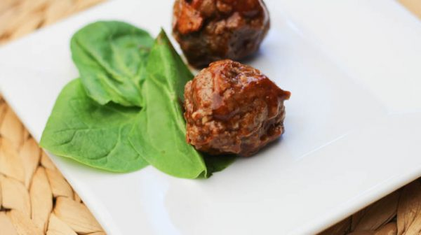 Barbecue Cheddar Meatballs. Easy to make and packed with protein. Great for small portion sizes for Gastric Sleeve or Bypass patients! #gastricsleeverecipes #gastricbypassdiet
