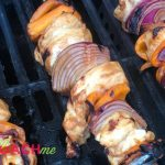 asian peanut chicken skewers high protein low carb weight loss surgery recipe on the grill