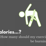 How many calories should my exercise be burning after bariatric surgery