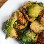 Air Fryer Brussels Sprouts bariatric surgery side dish
