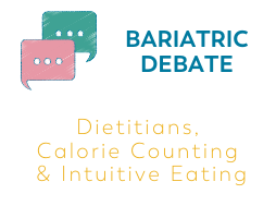 Bariatric Surgery blog why some dietitians use calorie counting and others do not