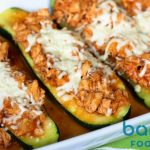 Parmesan Chicken Zucchini Boat on Bariatric Food Coach