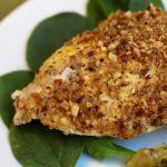 Almond Dijon Chicken Bake bariatric friendly recipe on Bariatric Food Coach