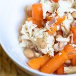 harvest chicken stew with carrots on bariatric food coach