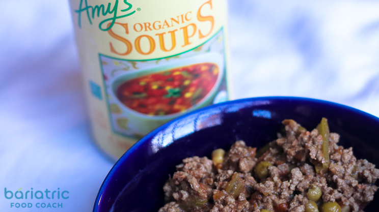 amys organics chunky vegetagble soup for quick beef and vegetable stoup on bariatric food coach