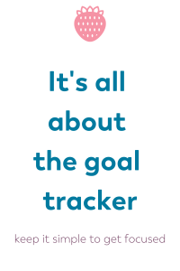 it's all about the goal tracker get focused challenge bariatric food coach