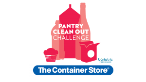 blog image for pantry clean out challenge giveaway to The Container Store®