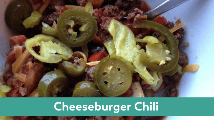 cheeseburger chili