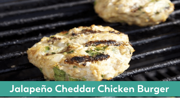 jalapeno cheddar chicken burger