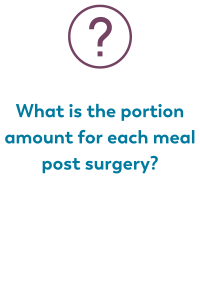 question images from live monthly chat on bariatric food coach