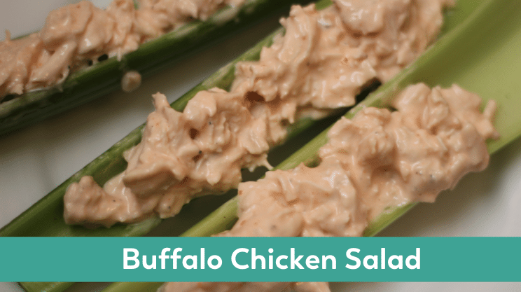 buffalo chicken salad bariatric surgery soft food or lunch idea