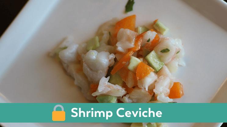 shrimp ceviche members recipe bariatric lunch idea