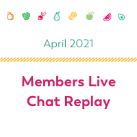 members live chat replay bariatric food coach