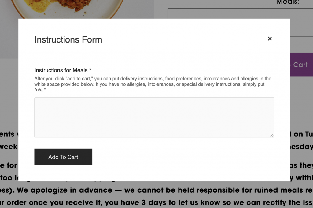 bari box ordering form and comments