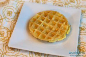 chaffle bariatric friendly protein waffle recipe