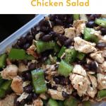 Pinterest ImageSouthwest Chicken Salad