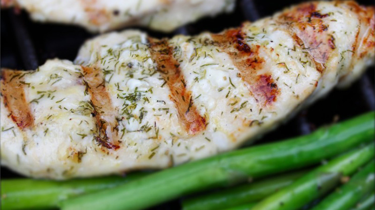 Lemon Dill Grilled Chicken bariatric friendly recipe
