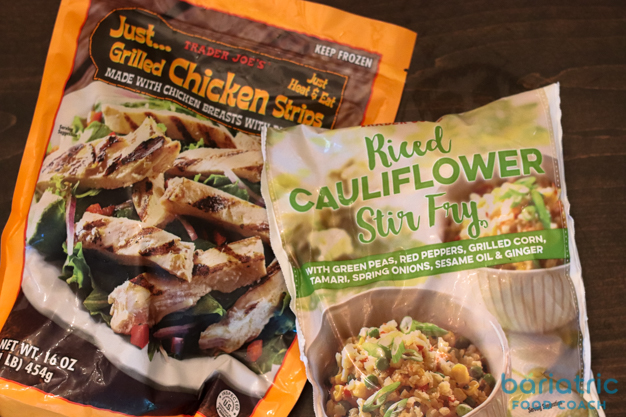 trader joes chicken and cauliflower stir fry bariatric shopping guide