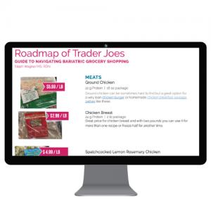 roadmap to bariatric shopping at trader joes